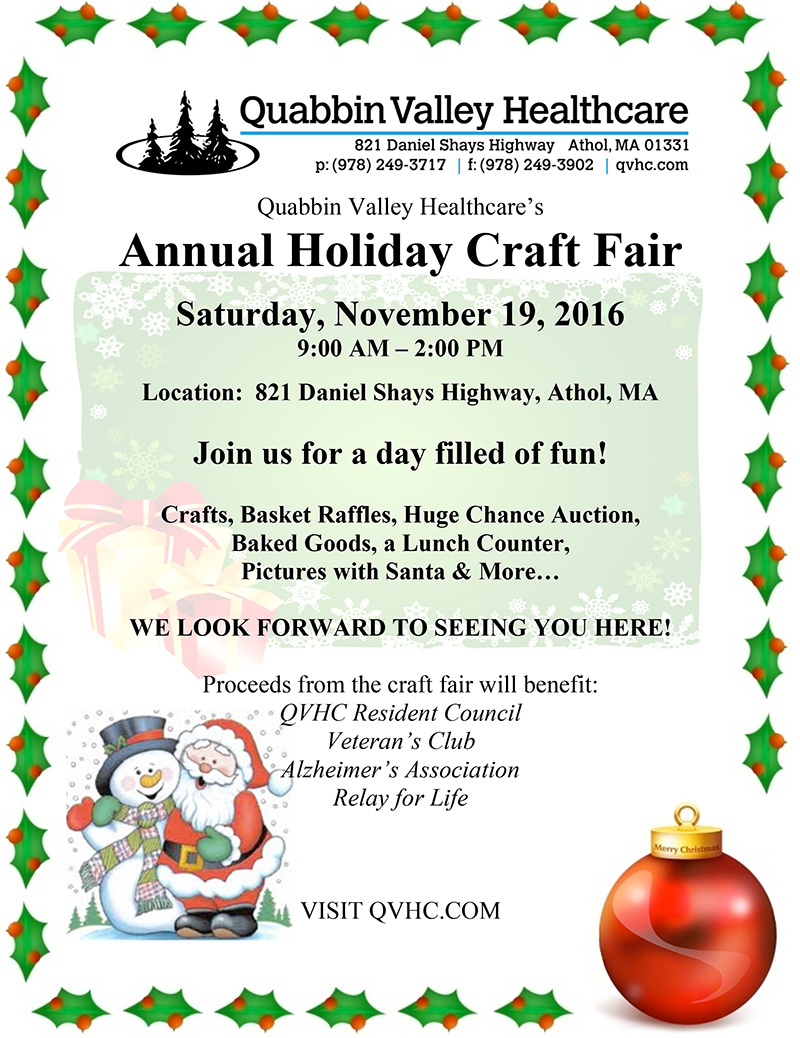 Craft Fair - Holiday Fair- Flyer-2